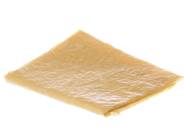 Beancurd Sheet Isolated