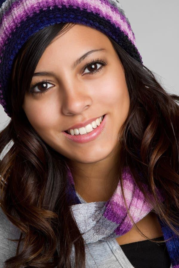 beanie χειμώνας εφήβων στοκ φωτογραφία με δικαίωμα ελεύθερης χρήσης