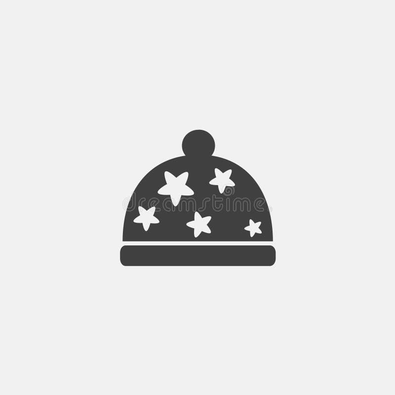 Beanie ikona ilustracja wektor