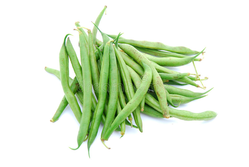 Beans green royalty free stock images