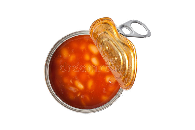 Download Beans in tin can stock photo. Image of delicious, bean - 14379306