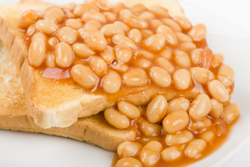 Download Beans on Toast stock photo. Image of britain, popular - 31966420
