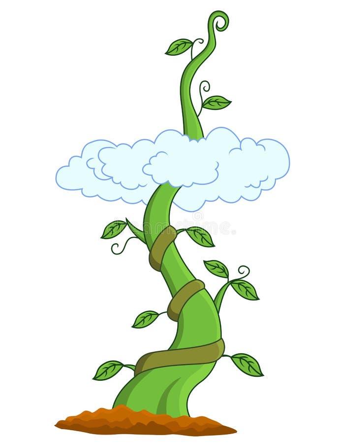 Download Beanstalk stock vector. Image of bloom, fantasy, fresh - 23691745