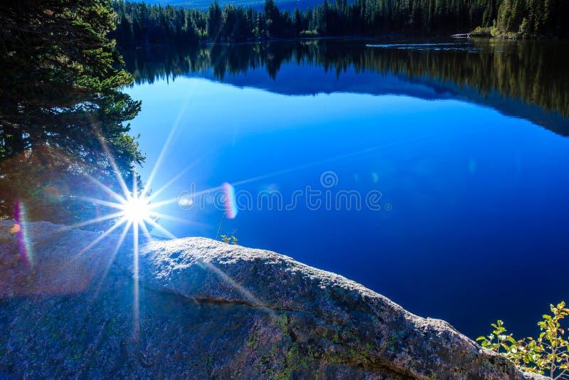 Bear湖 库存图片