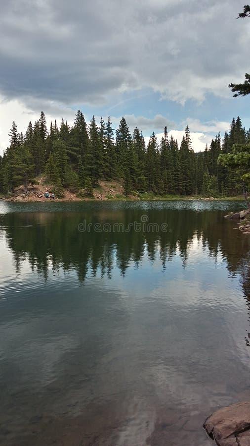 Bear湖 图库摄影