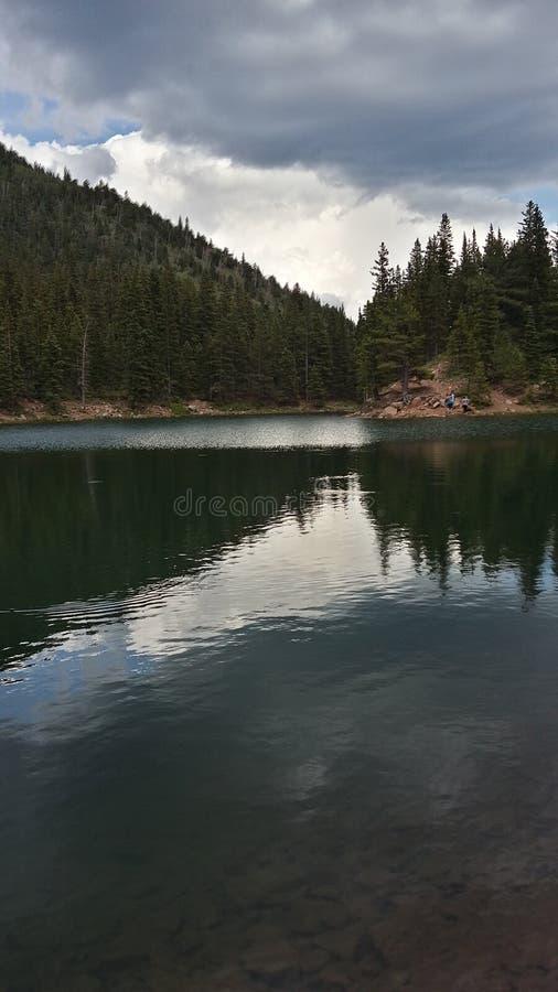 Bear湖 库存照片