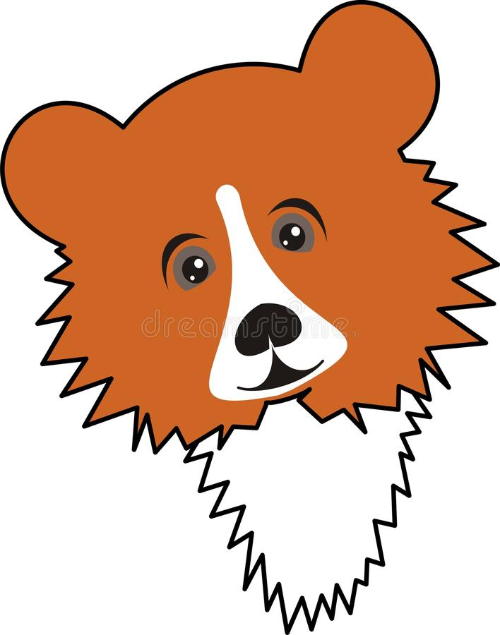 Download Bear stock vector. Image of drawing, jovial, painting - 10918447