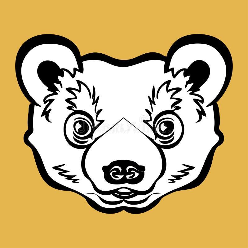 Download Bear stock vector. Image of animals, graphic, hand, cartoon - 12297360