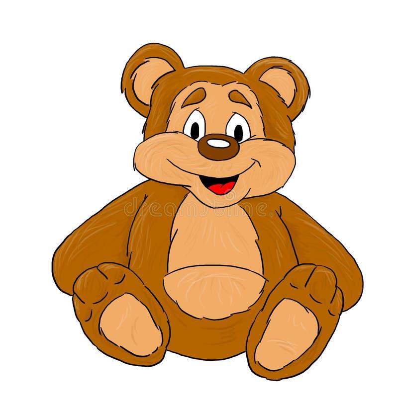 Download Bear stock illustration. Image of bear, brown, little, animal - 227524