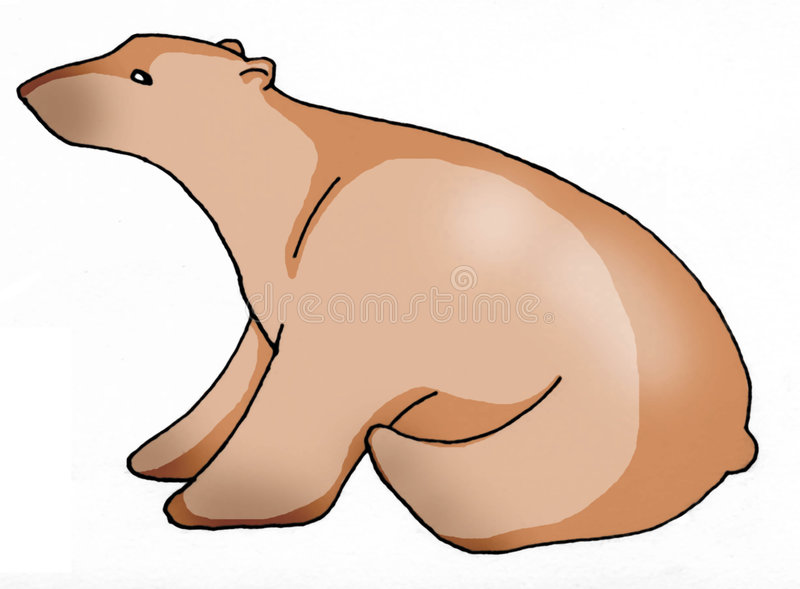 Bear stock illustration