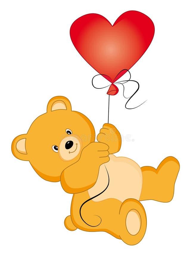 Download Bear-balloon Royalty Free Stock Photos - Image: 17261468