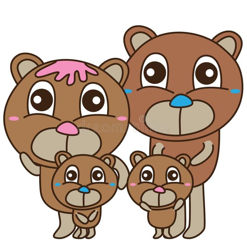Free Bear Bear Family Cute Royalty Free Stock Images - 59088299