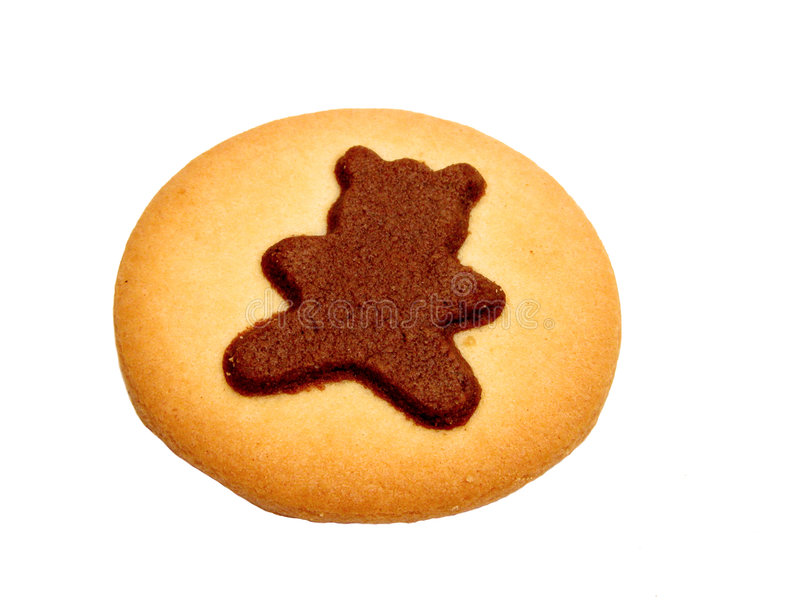 Bear biscuit stock photos