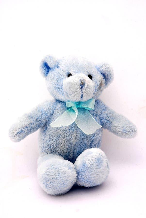bear blue teddy стоковое изображение