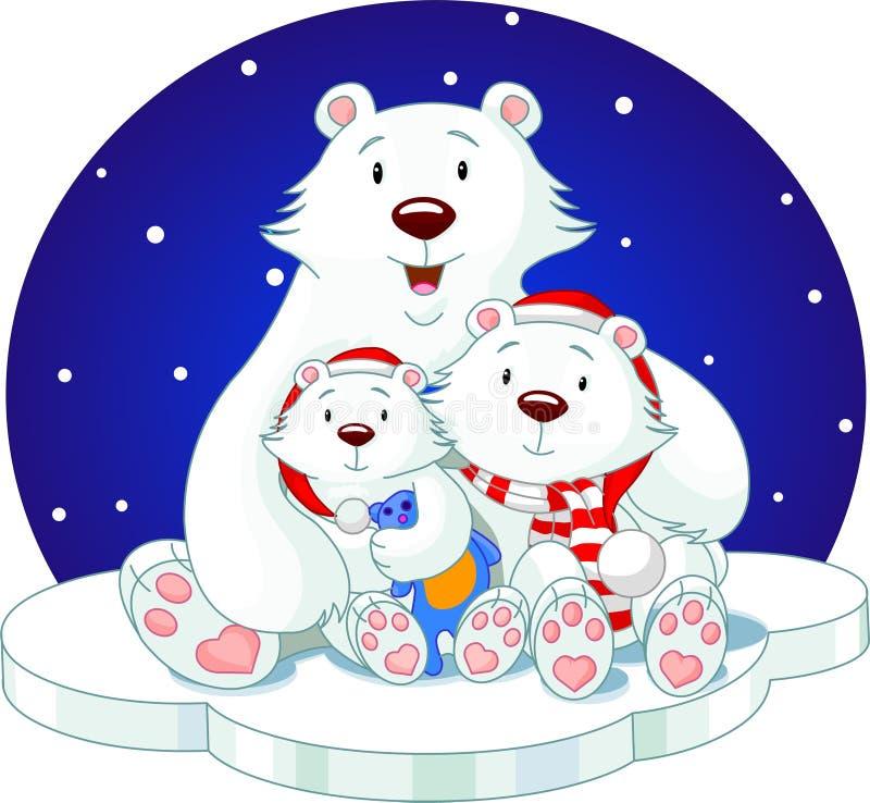 Bear_family illustrazione di stock