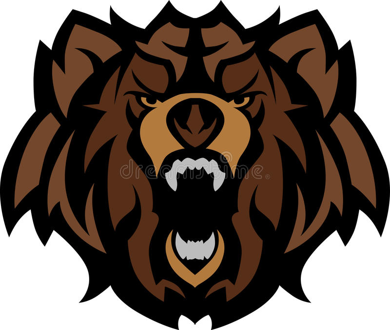 Download Bear Grizzly Mascot Head Vector Graphic Stock Vector - Illustration: 20772827