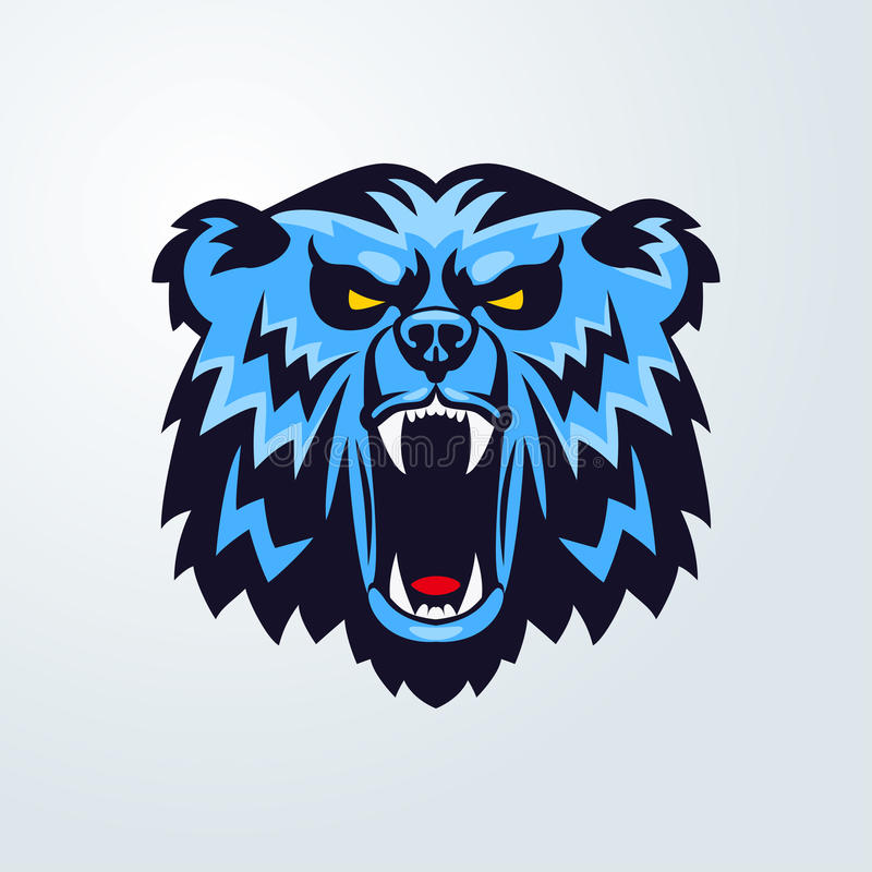 Grizzly Bear Mascot Logo Stock Illustrations 1,709