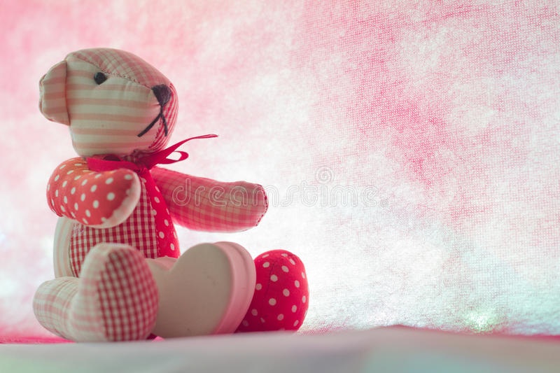 Download Bear With Heart Stock Photo - Image: 83720029