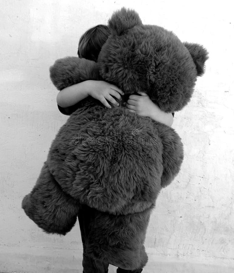 Bear hug stock images