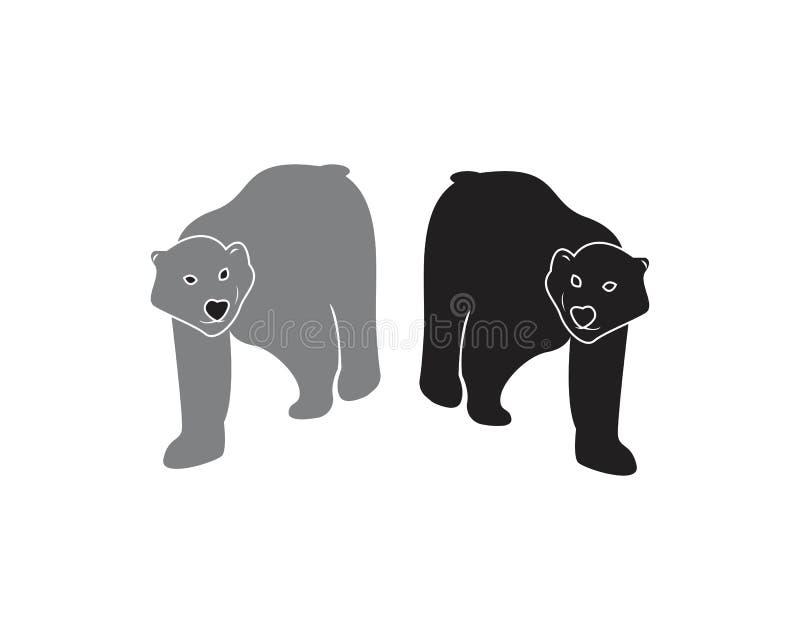 Bear icon logo design vector illustration stock illustration