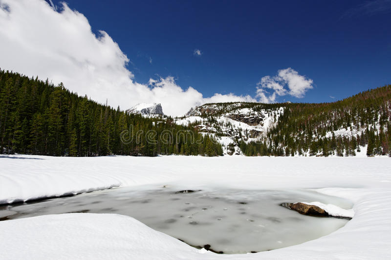 Bear Lake In Rocky Mountain National Park Stock Photography