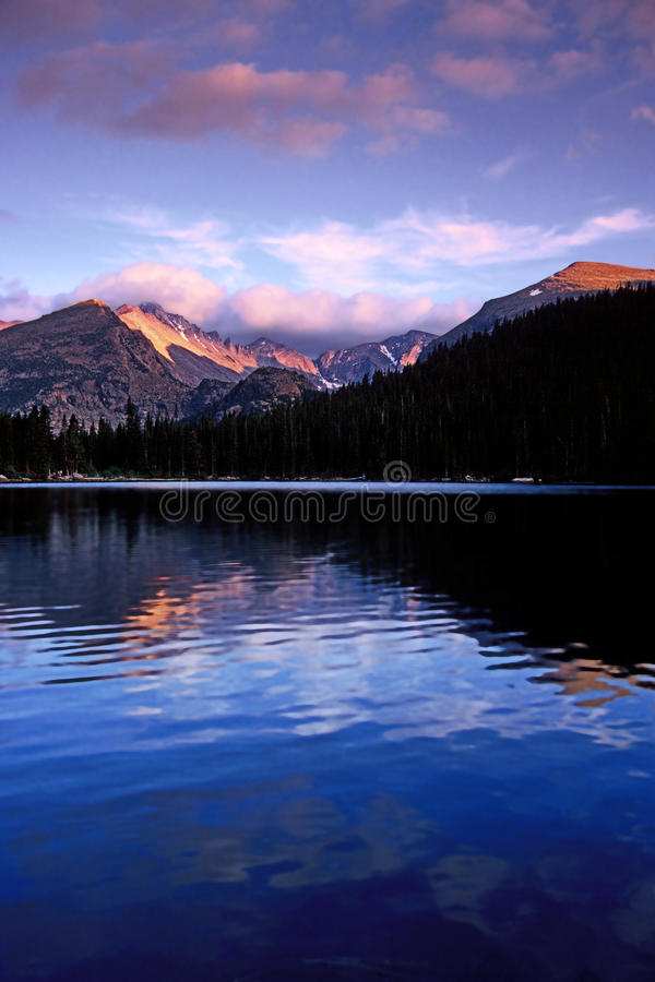 Bear Lake, Rocky Mountain National Park royalty free stock images
