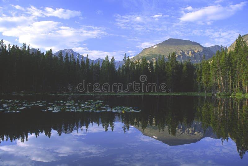 Bear Lake in Rocky Mountains royalty free stock image