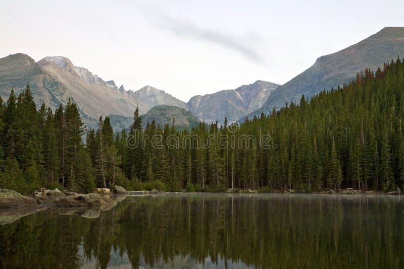 Bear Lake at Sunrise royalty free stock images