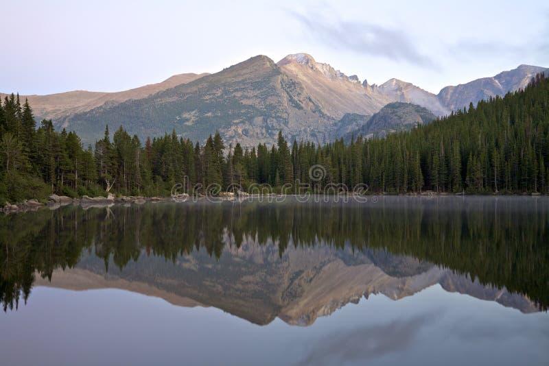 Bear Lake at Sunrise royalty free stock photography