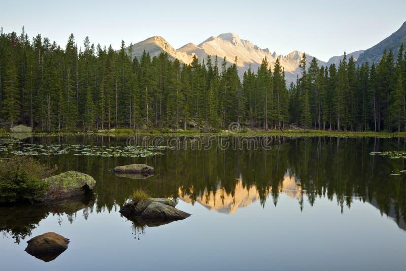Bear Lake at Sunrise stock photos