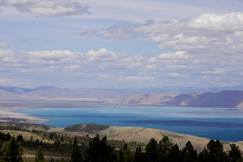 Bear Lake Utah royalty free stock photography