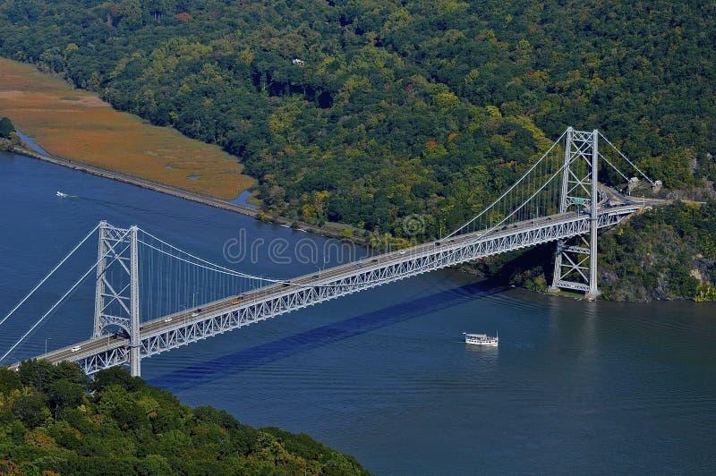 Bear Mountain-Brücke, NY lizenzfreies stockfoto