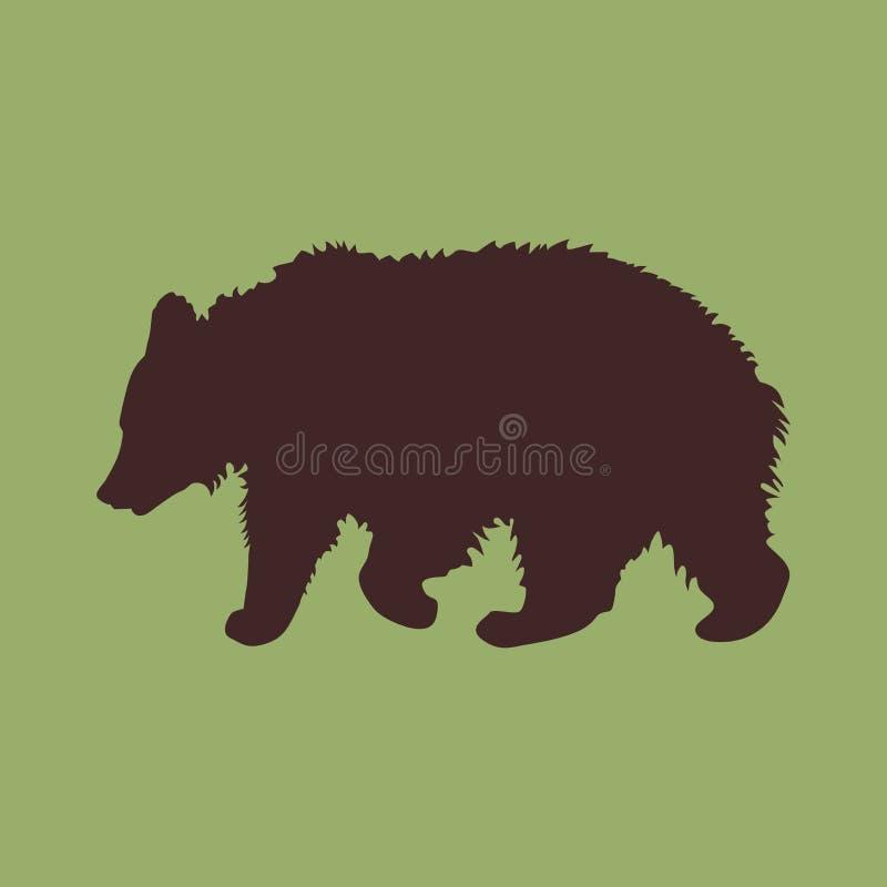 Bear stock illustration