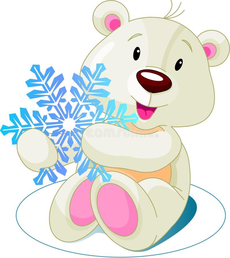 Download Bear_snow ilustración del vector. Ilustración de claus - 7278692