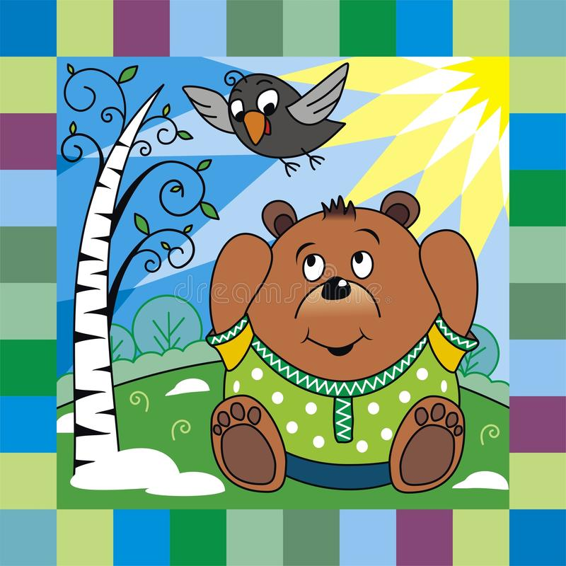 Download Bear In Spring Royalty Free Stock Photos - Image: 27631008