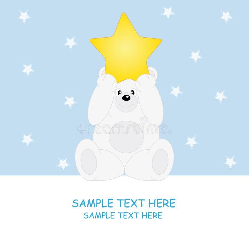 Bear-star stock illustration