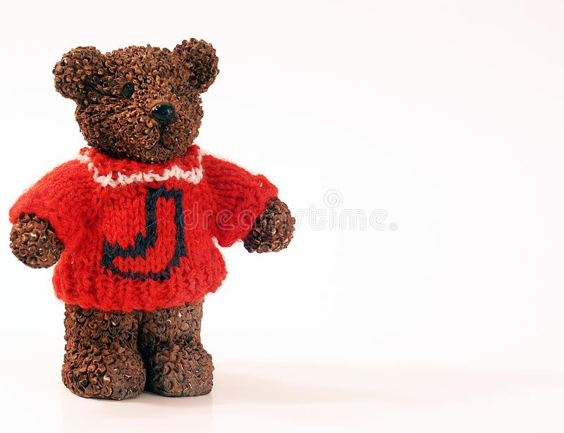 Bear In Sweater Stock Images