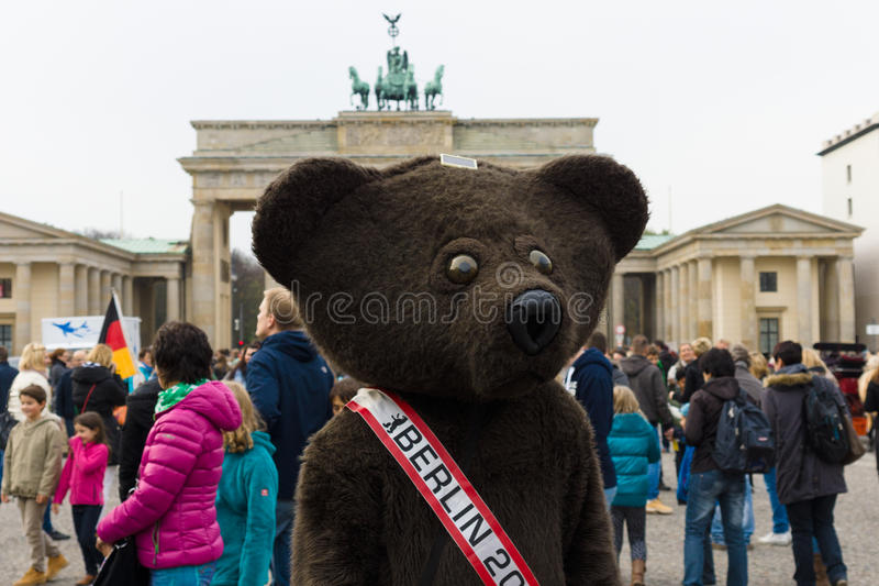 The Bear A Symbol Of Berlin Editorial Photo Image Of Character