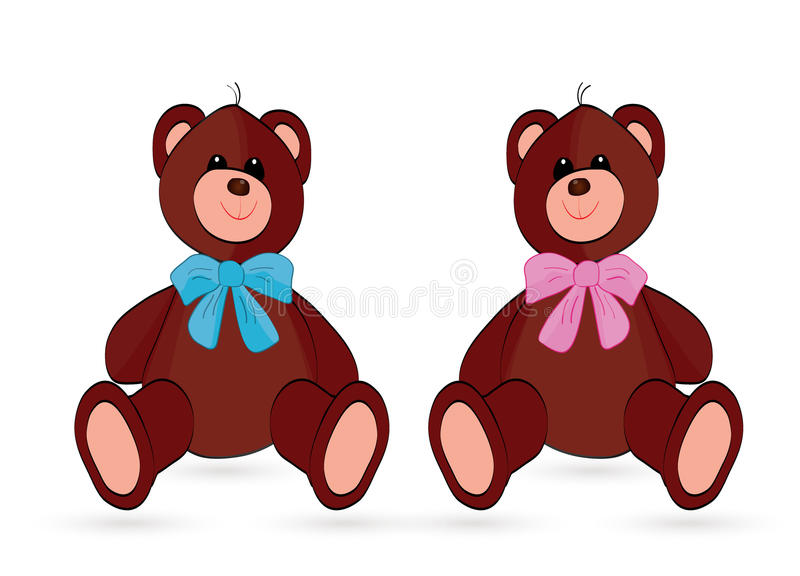 Download Bear stock vector. Image of care, bear, card, delivery - 30390726