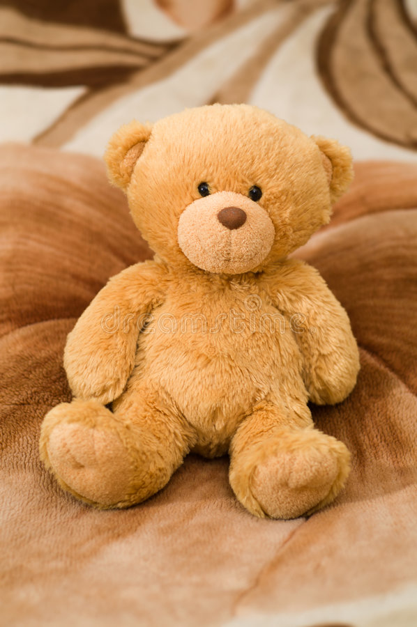 Download Bear toy stock image. Image of sitting, card, love, softness - 5740821