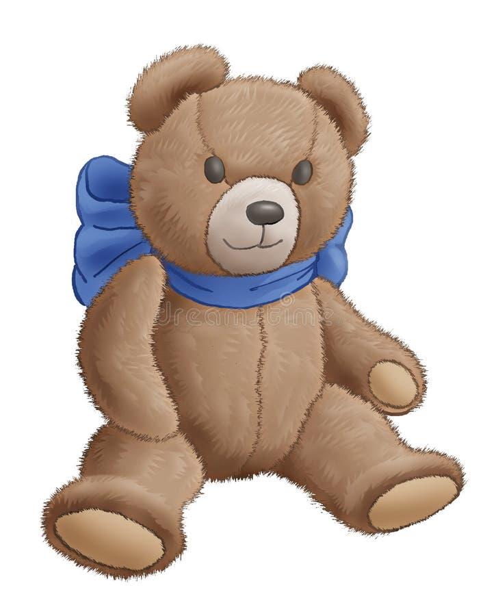 Download Bear-toy stock illustration. Image of animal, merry, raster - 5884932