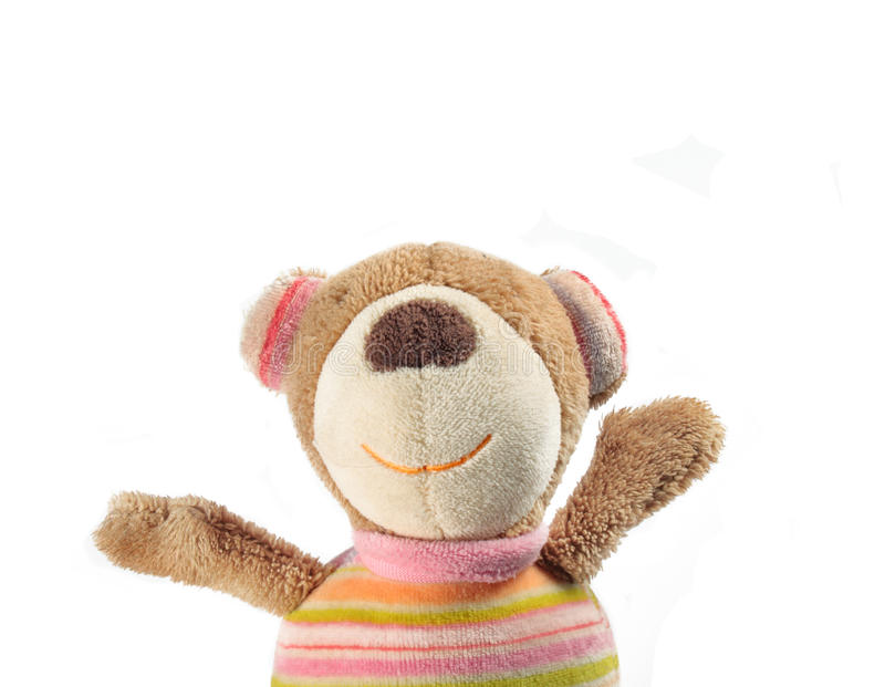 Download Bear toy saing Hi! stock image. Image of gift, fluffy - 20106519