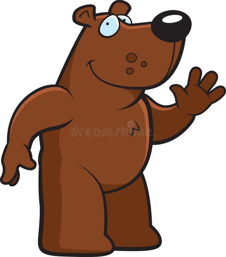 Download Bear Waving Royalty Free Stock Image - Image: 6681176