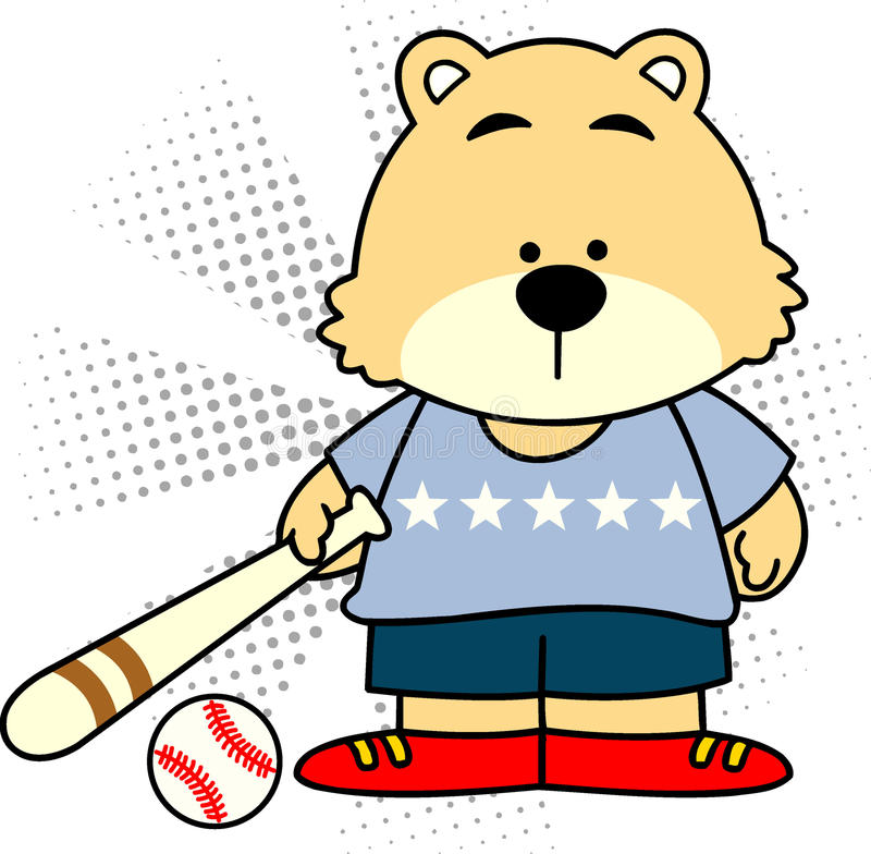 Bear1 vector illustratie