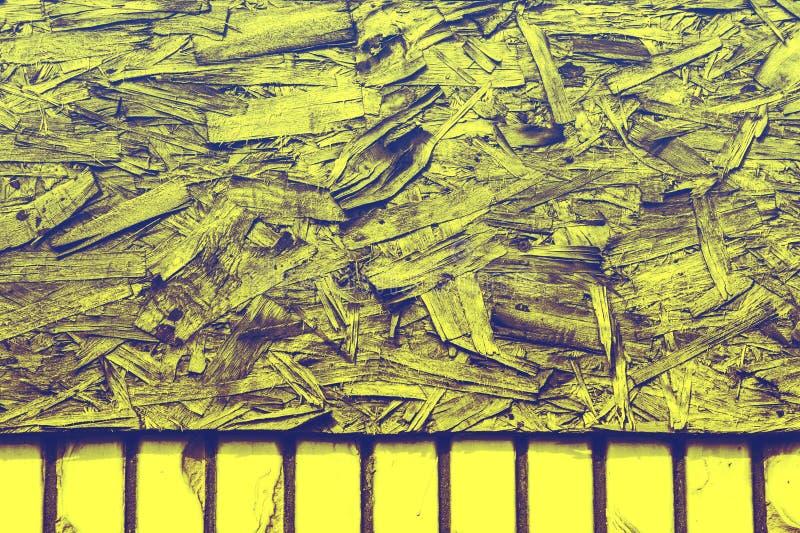 Bearbeta för tappning Texturera bakgrund fiberboard styvt bräde arkivfoto