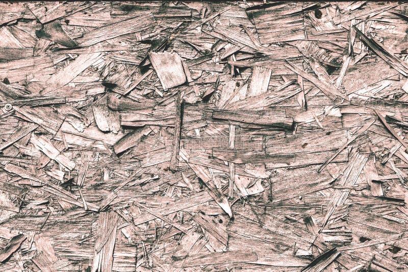 Bearbeta för tappning Texturera bakgrund fiberboard styvt bräde royaltyfri bild