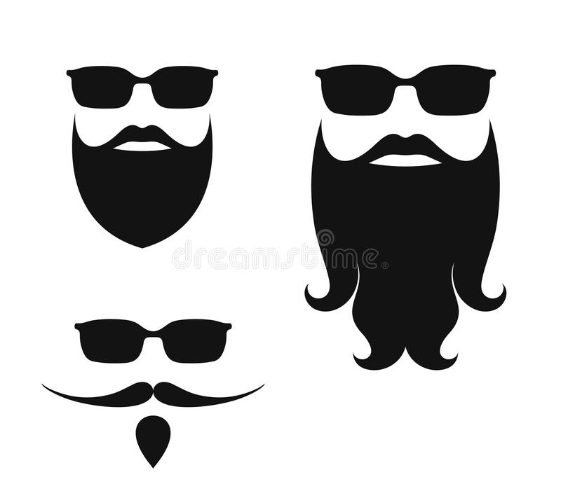 Beard royalty free stock images