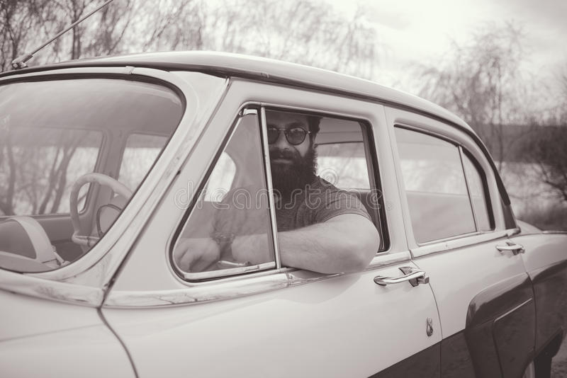 bearded man στοκ εικόνα με δικαίωμα ελεύθερης χρήσης