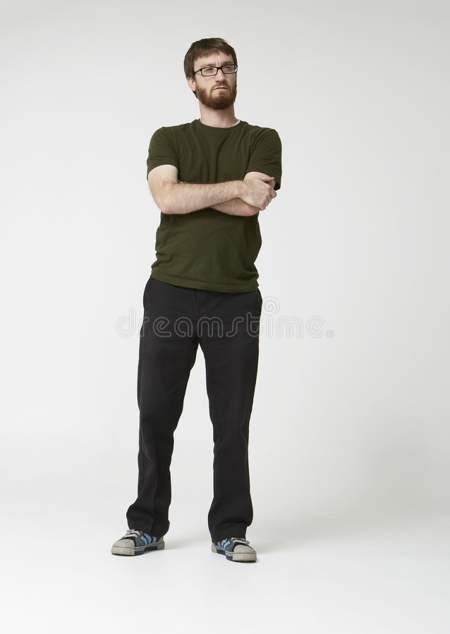 Download Bearded Man With Arms Folded Stock Images - Image: 2303074