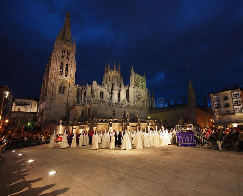 Bearers In The Semana Santa Procession Editorial Image